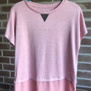 Juicy Couture | Super Soft Pink Blouse/Tee 😍